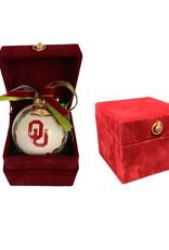 The Memory Company Memory Company OU Ceramic Ball Ornament w/ Decorative Box