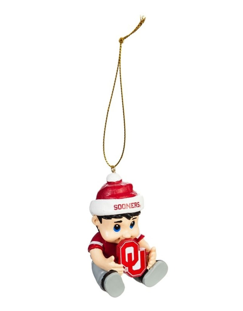 Team Sports America OU New Lil Fan Ornament