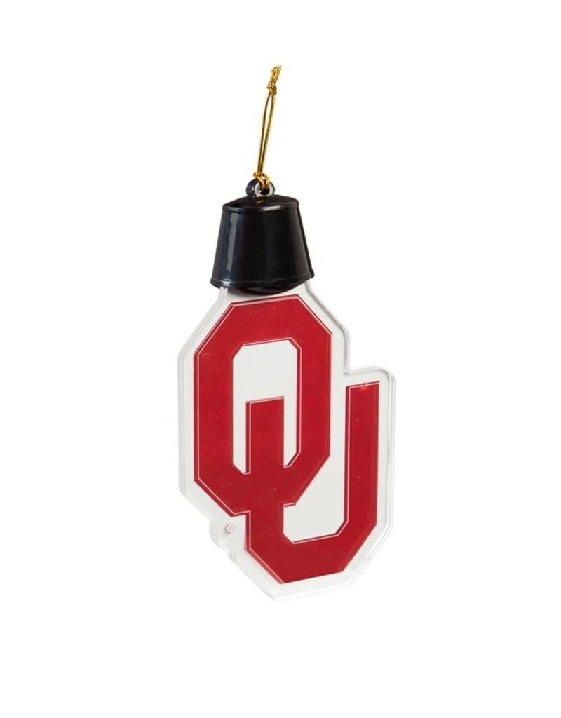 Team Sports America OU Acrylic LED Ornament