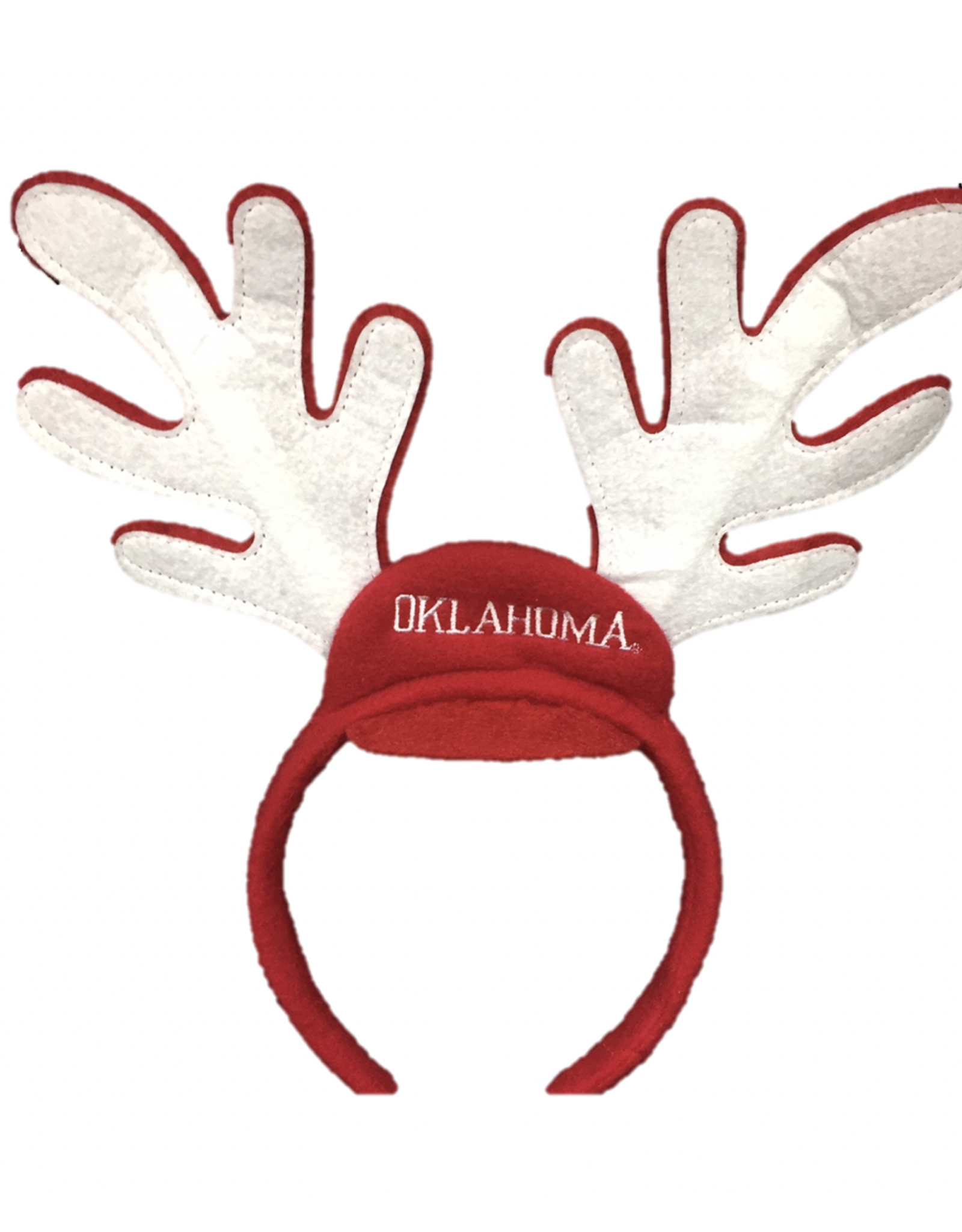Forever Collectibles OU Oklahoma Reindeer Ears Headband