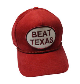 "Top of the World Corduroy ""Beat Texas"" Hat"