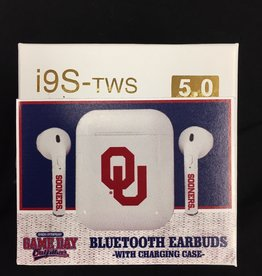 Game Day Outfitters OU Bluetooth Earbuds With Charging Case