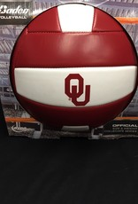 Baden OU  Oklahoma Volleyball Crimson & White