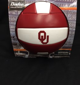 Baden OU  Oklahoma Volleyball Crimson & White