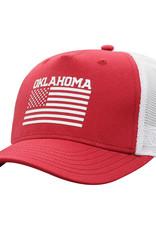 TOW TOW Men's Hero Oklahoma US Flag Adjustable Two-Tone Hat