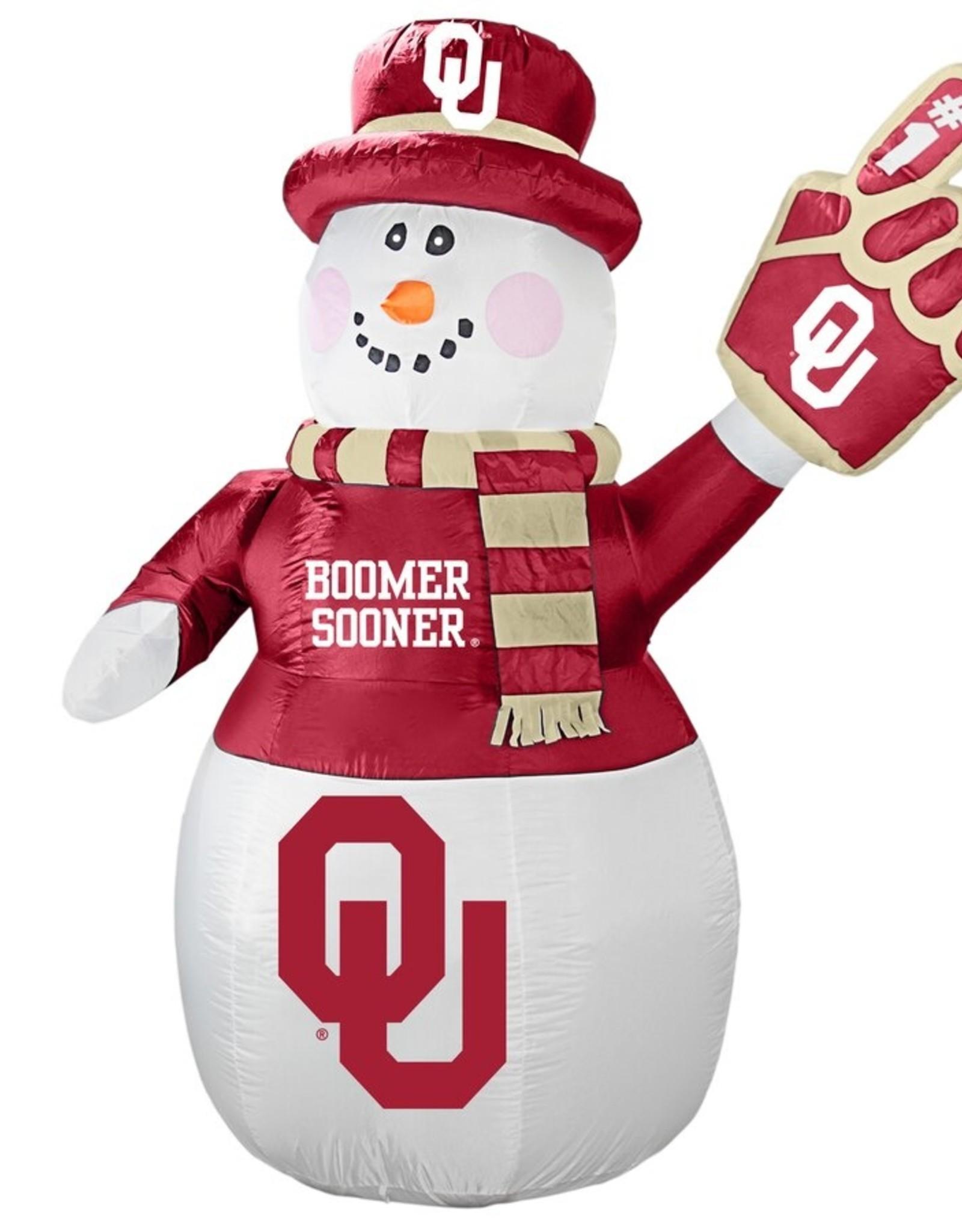 Topperscott OU 7 Ft. Tall Inflatable Snowman