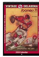 Asgard 2020 Vintage OU Football Calendar