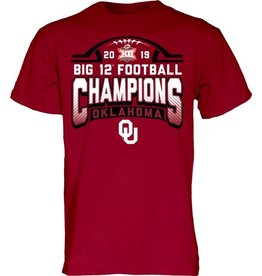 2019 Locker Room Big 12 Champions Short Sleeve Tee