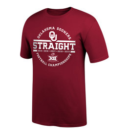 TOW TOW 5 Straight Big 12 Champions Short Sleeve Tee