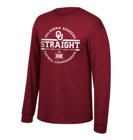 TOW TOW 5 Straight Big 12 Champions Long Sleeve Tee