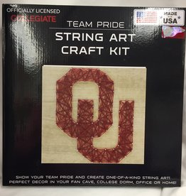 Team Pride OU String Art Craft Kit