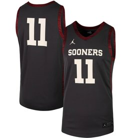 Jordan Men's Jordan Brand Alternative Basketball Jersey #11-Anthracite