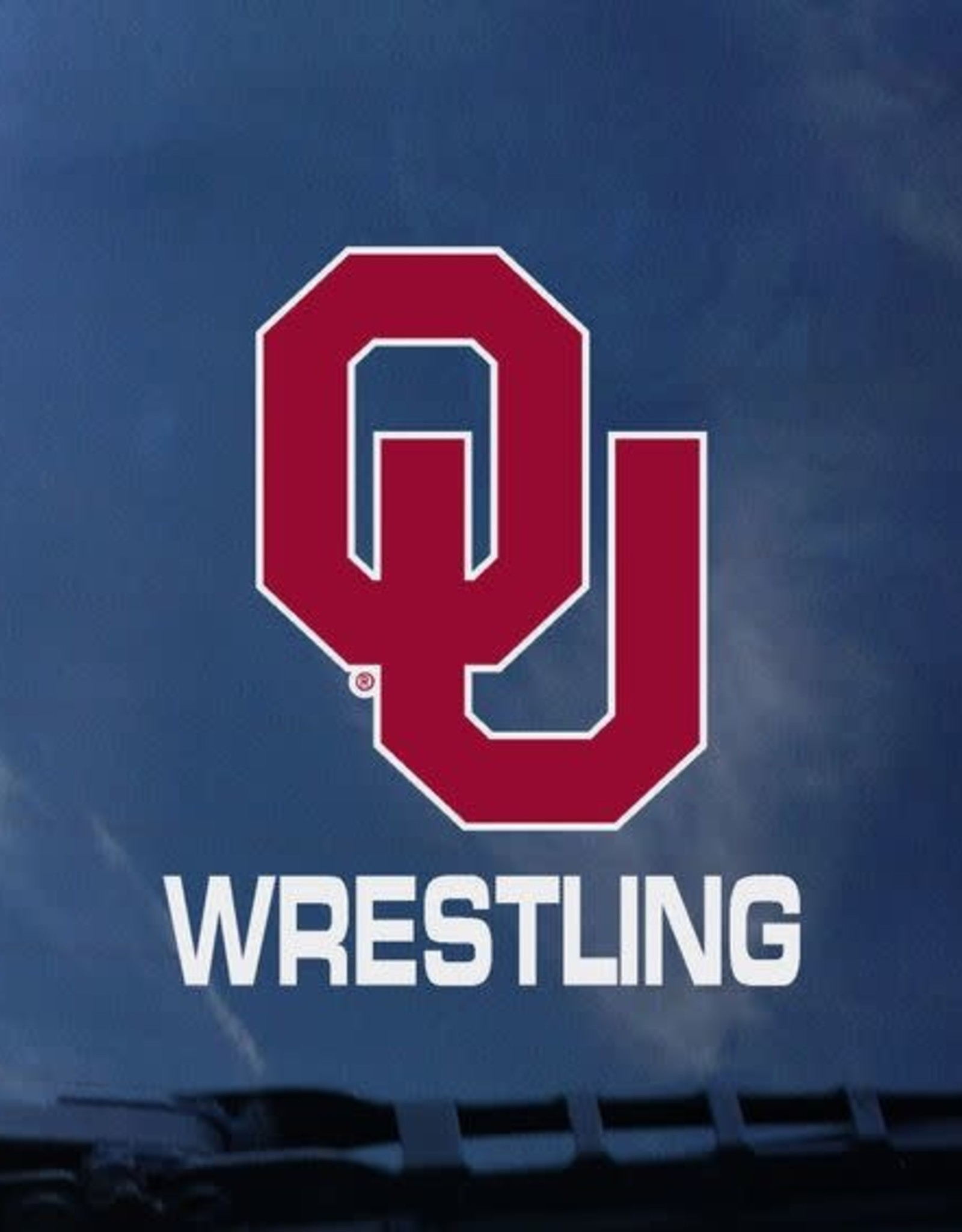 Ou Wrestling Auto Decal 3 5 X3 6 Balfour Of Norman