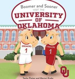 Alma Mater Storybooks Boomer and Sooner Visit The University of Oklahoma Storybook