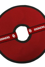 "All Star Dogs Oklahoma Sooners 8"" Flying Disc Dog Toy"