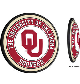 "Grimm Slimline 18"" Round OU Lighted Sign (online store)"