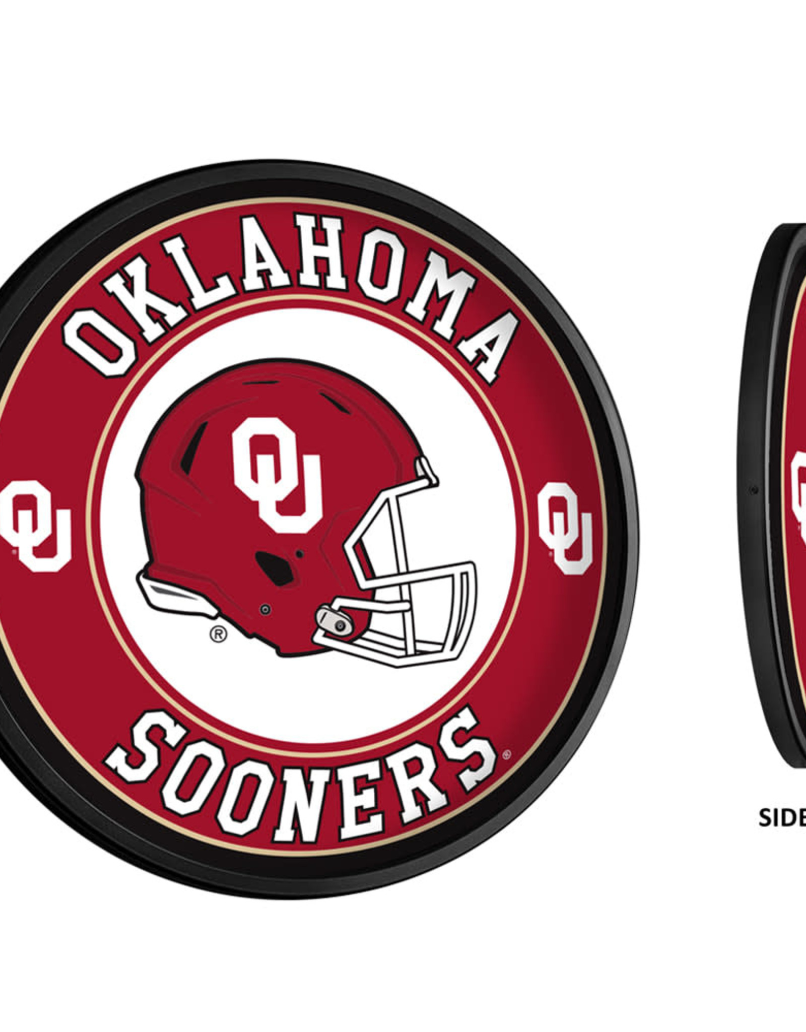 "Grimm Slimline 18"" Round OU Helmet Lighted Sign (online store)"