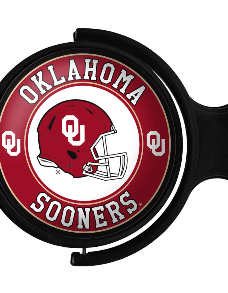 Grimm Rotating Round Bubble OU Helmet Lighted Sign (online store)
