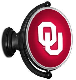 Grimm Rotating Oval Bubble OU Lighted Sign (online store)