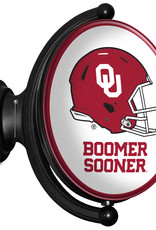 Grimm Rotating Oval Bubble OU Helmet Lighted Sign (online store)