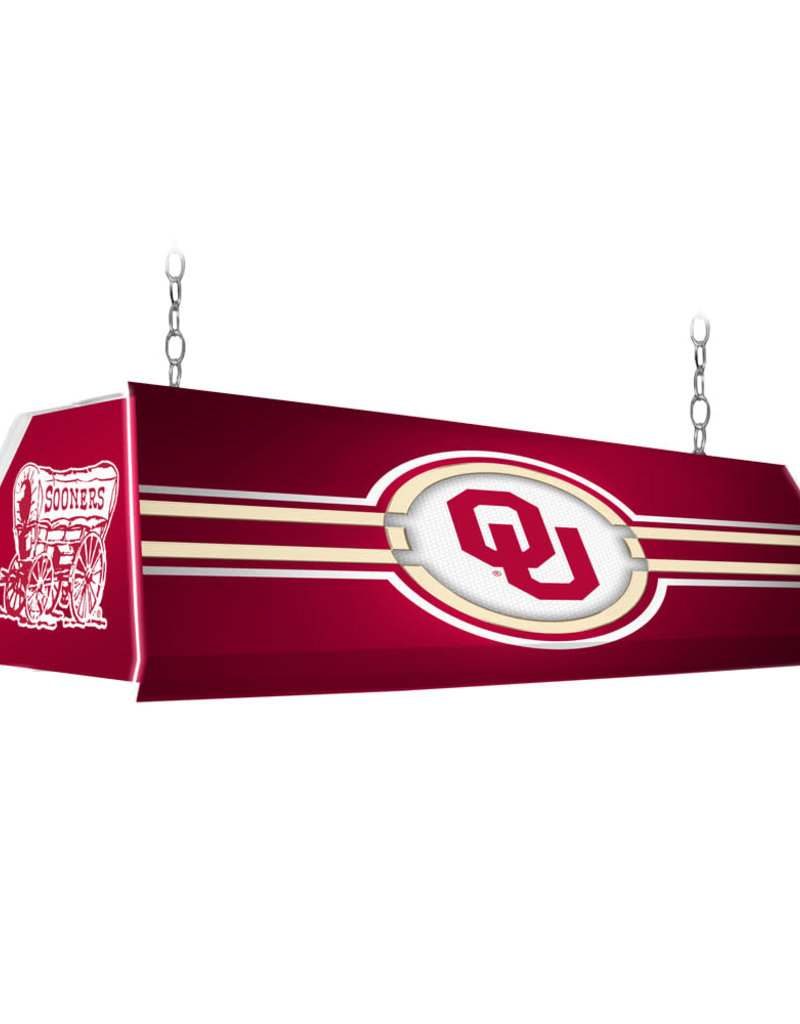 """Grimm 46"""" OU Edge Glow Pool Table Light (online store)"""