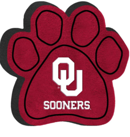 "All Star Dogs OU Sooners Paw Squeak Toy (9"")"