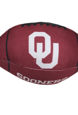 "All Star Dogs OU Sooners Football Squeak Toy (8""x4"")"