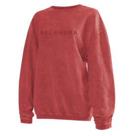 Chicka-d Women's Chicka-D Crimson Corded Crew