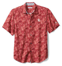 Tommy Bahama Men's Tommy Bahama OU Jungle Shade Silk Camp Shirt