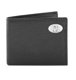 Zep-Pro Zep-Pro Black Pebble Grain Passcase Wallet