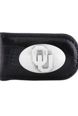 Zep-Pro Zep-Pro Magnetic Money Clip Croc Black