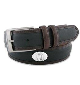 Zep-Pro Zep-Pro OU Concho Belt Black with Brown Trim