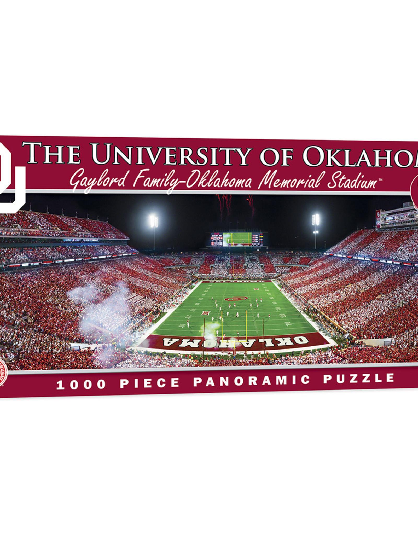 Masterpieces Oklahoma Sooners 1000 Piece Stadium Jigsaw Puzzle