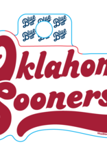 Blue 84 Blue 84 Retro Oklahoma Sooners Sticker