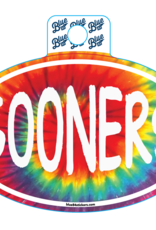 Blue 84 Blue 84 Tie Dye Sooners Sticker