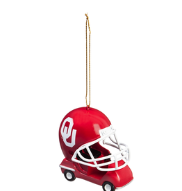 Team Sports America Oklahoma Helmet Field Car Ornament