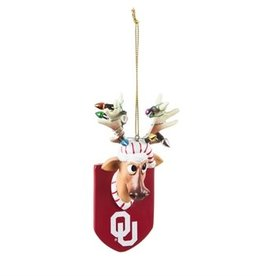 Team Sports America OU Reindeer Ornament