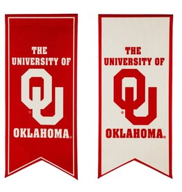 Team Sports America OU Ribbon Garden Flag