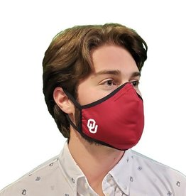 Distanz Health Mask OU Crimson Polygiene Mask
