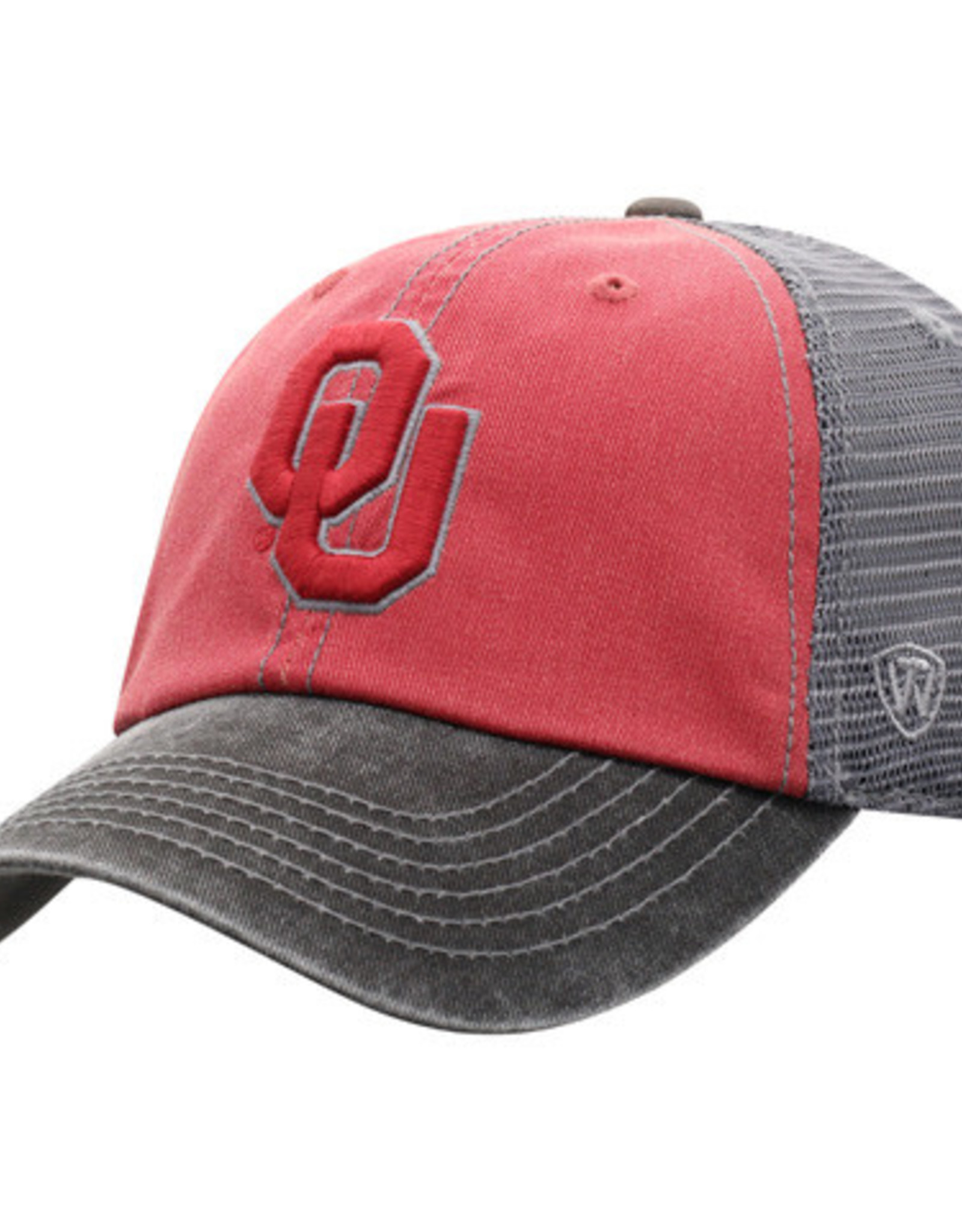 TOW Men's TOW Offroad Crimson & Gray Adjustable Cap