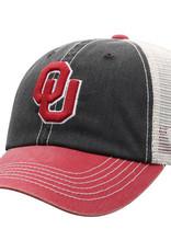 TOW Men's TOW Offroad Black & Crimson Adjustable Cap