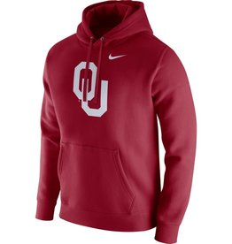 Nike Men's Nike OU Crimson Pull-over Club Fleece Hoodie
