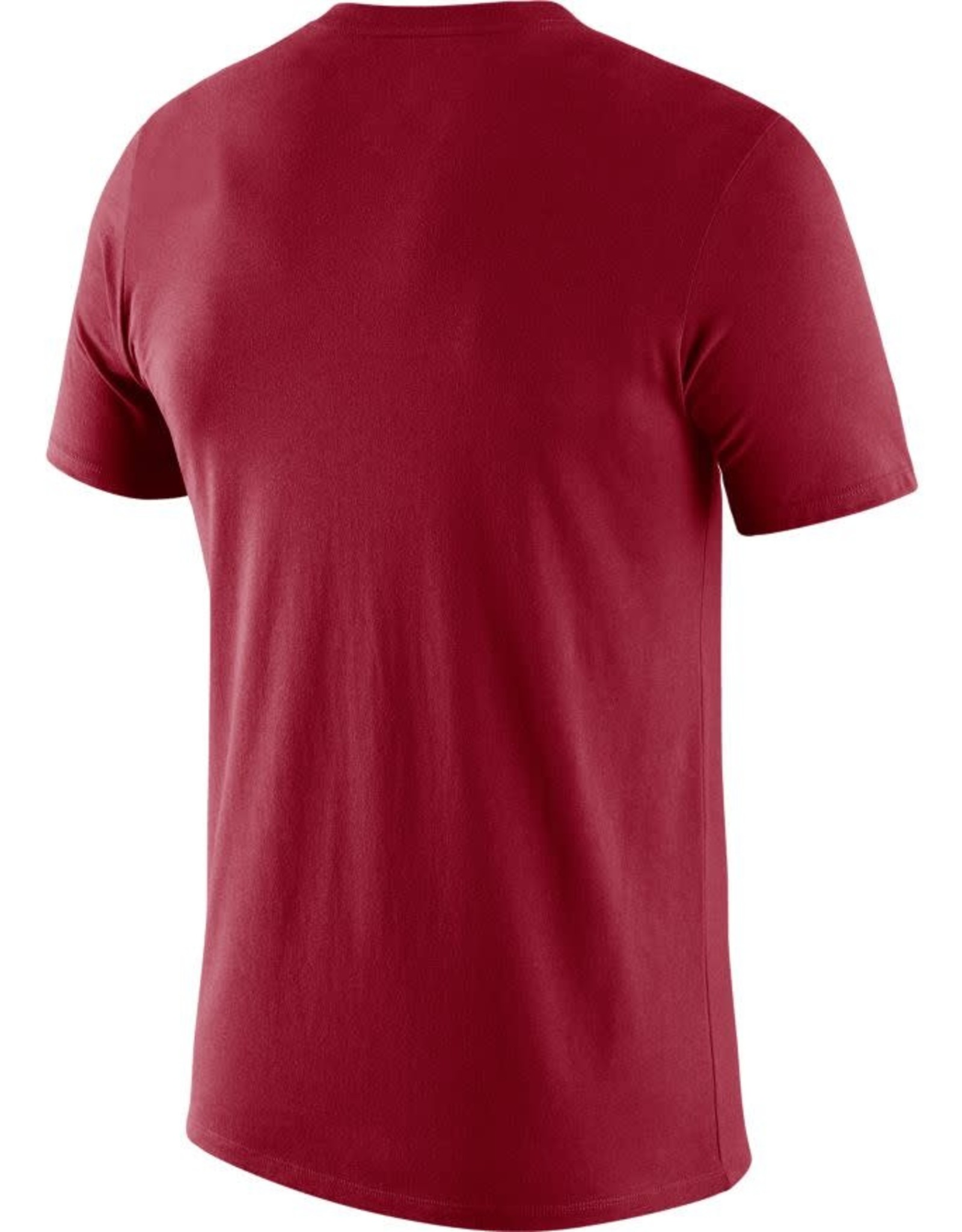 Jordan Men's Jordan Crimson OU Football Icon Word Dri-Fit Cotton Tee