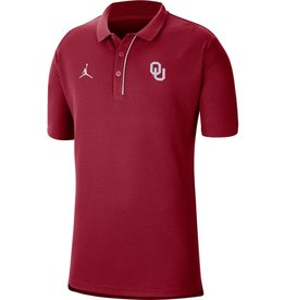 Jordan Men's Jordan OU 2020 Team Polo Crimson