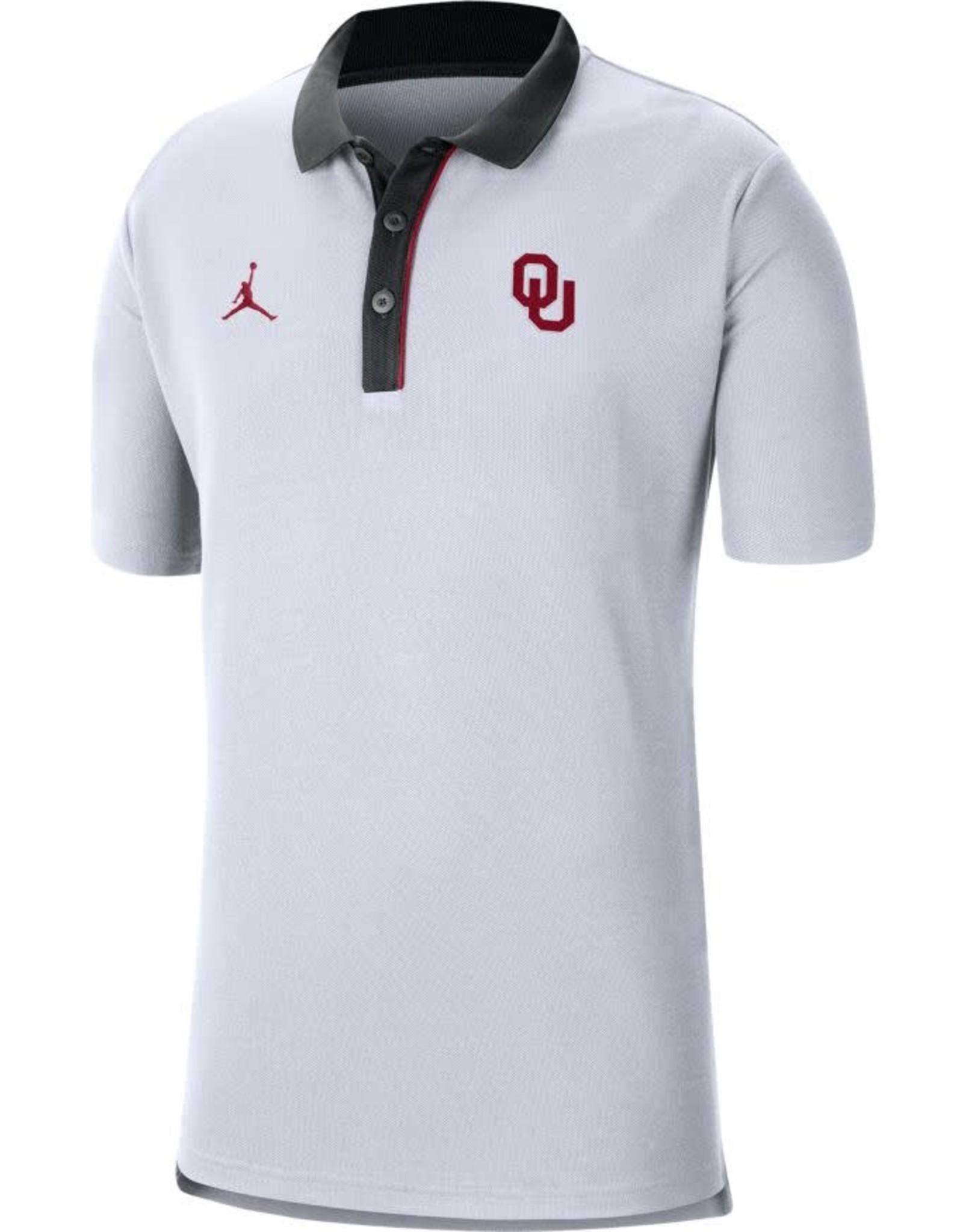 Jordan Men's Jordan OU 2020 Team Polo White