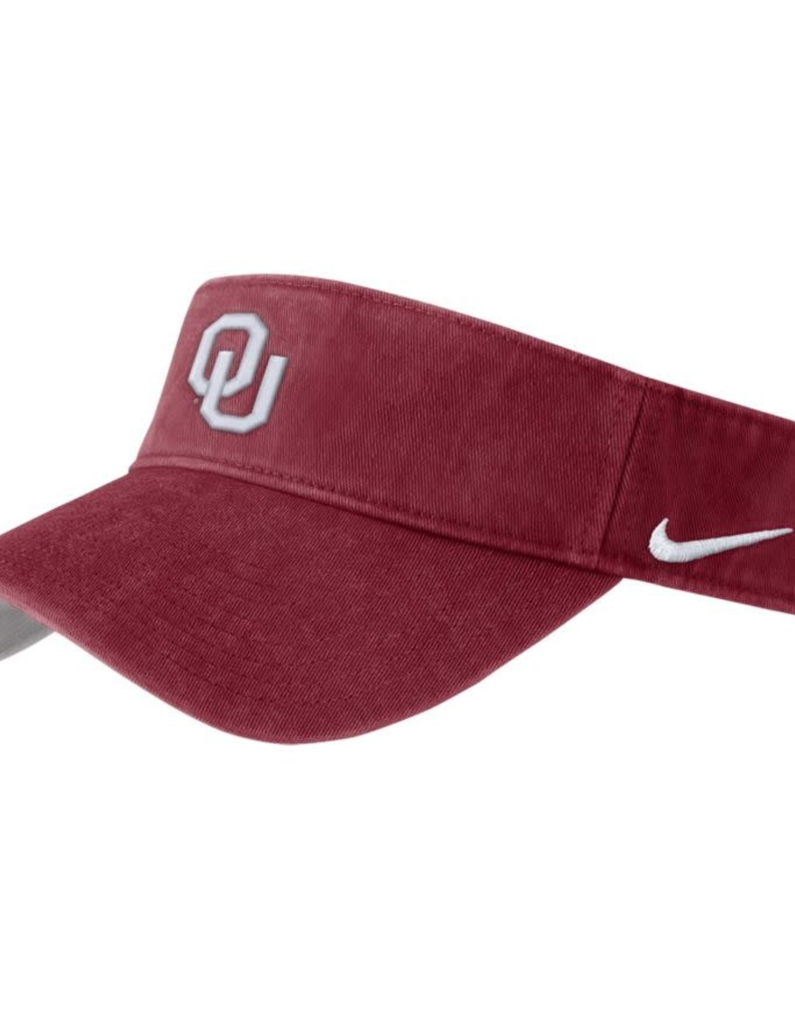 Nike Men's Nike Pigment Washed Visor Crimson w/ White OU