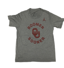 Nike Youth Nike Dri-Fit Legend OU Boomer Sooner Tee