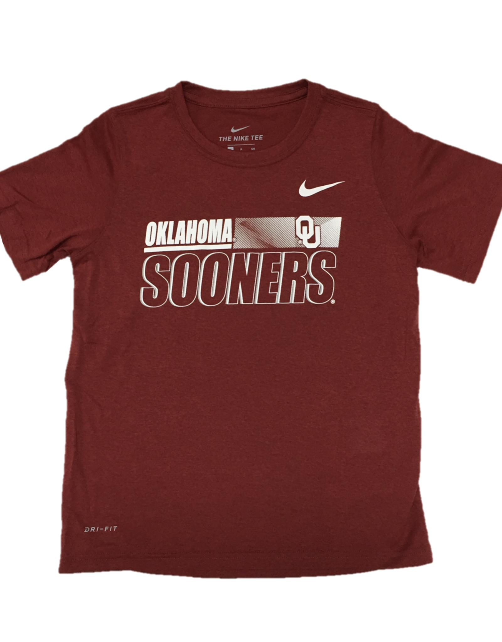 Nike Children's Nike Dri-Fit Legend S/S OU Sooners Crimson Tee