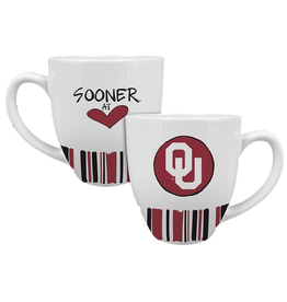 Magnolia Lane Magnolia Lane Ceramic OU Sooner At Heart Mug