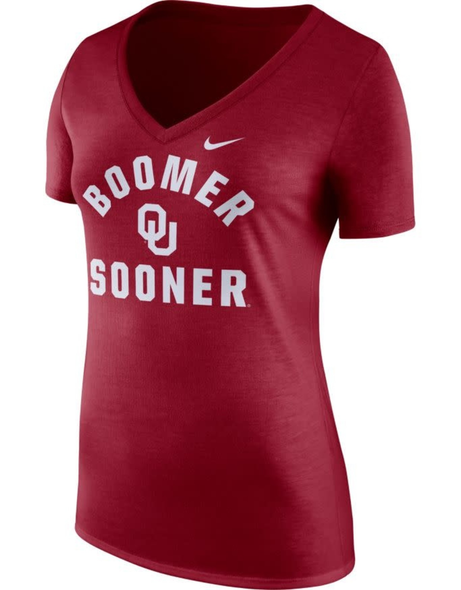 Nike Women's Nike Tri-V Mantra Tee Crimson Boomer Sooner